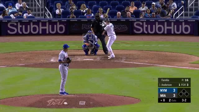Watch and share Miami Marlins GIFs and New York Mets GIFs on Gfycat