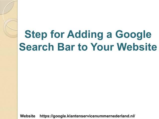 Watch and share Hoe U Een Google-zoekbalk Aan Uw Website Kunt Toevoegen GIFs by martinsomya on Gfycat
