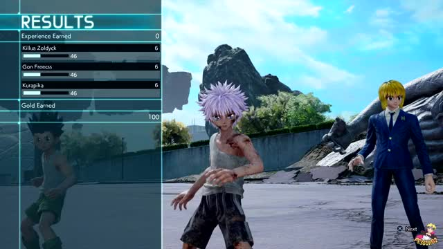 Watch Jump Force - Killua's Godspeed & Kurapika's Emperor Time Gameplay (HD) GIF on Gfycat. Discover more related GIFs on Gfycat