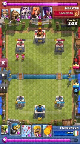 Watch and share This Must Be Cheating (Witch + Building) • R/ClashRoyale GIFs on Gfycat