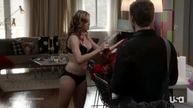 danielle Panabaker dressing up after being fucked all night