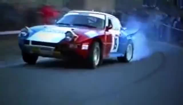 Watch and share Crazy Group B Mazda RX7 - With Pure Engine Sounds GIFs on Gfycat