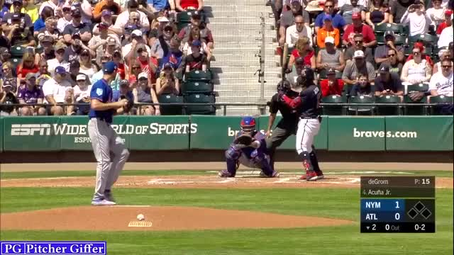 Watch and share Atlanta Braves GIFs and New York Mets GIFs by Pitcher Giffer on Gfycat