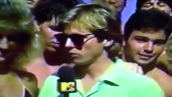 1987 MTV Spring Break part 1 GIFs