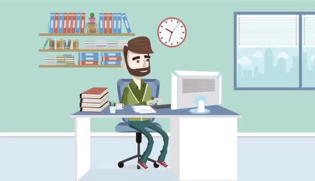 Watch Vídeos corporativos animados. Vídeos para empresas GIF on Gfycat. Discover more related GIFs on Gfycat