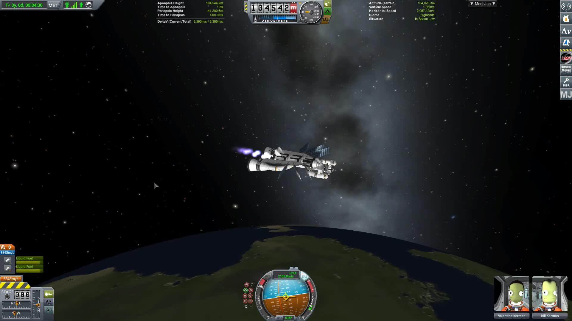Game Play, Gameplay, JPlays, Jatwaa, KSP, Kerbal, Program, Space, funny, youtuber, Kerbal Space Program | Building and Launching StarMan Station GIFs