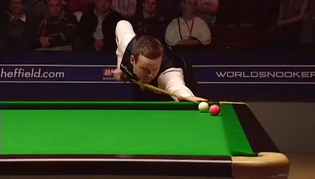 Sports, snooker, Murphy's Outrageous Pink - 2009 World Snooker Championship semi-final - frame 19 GIFs