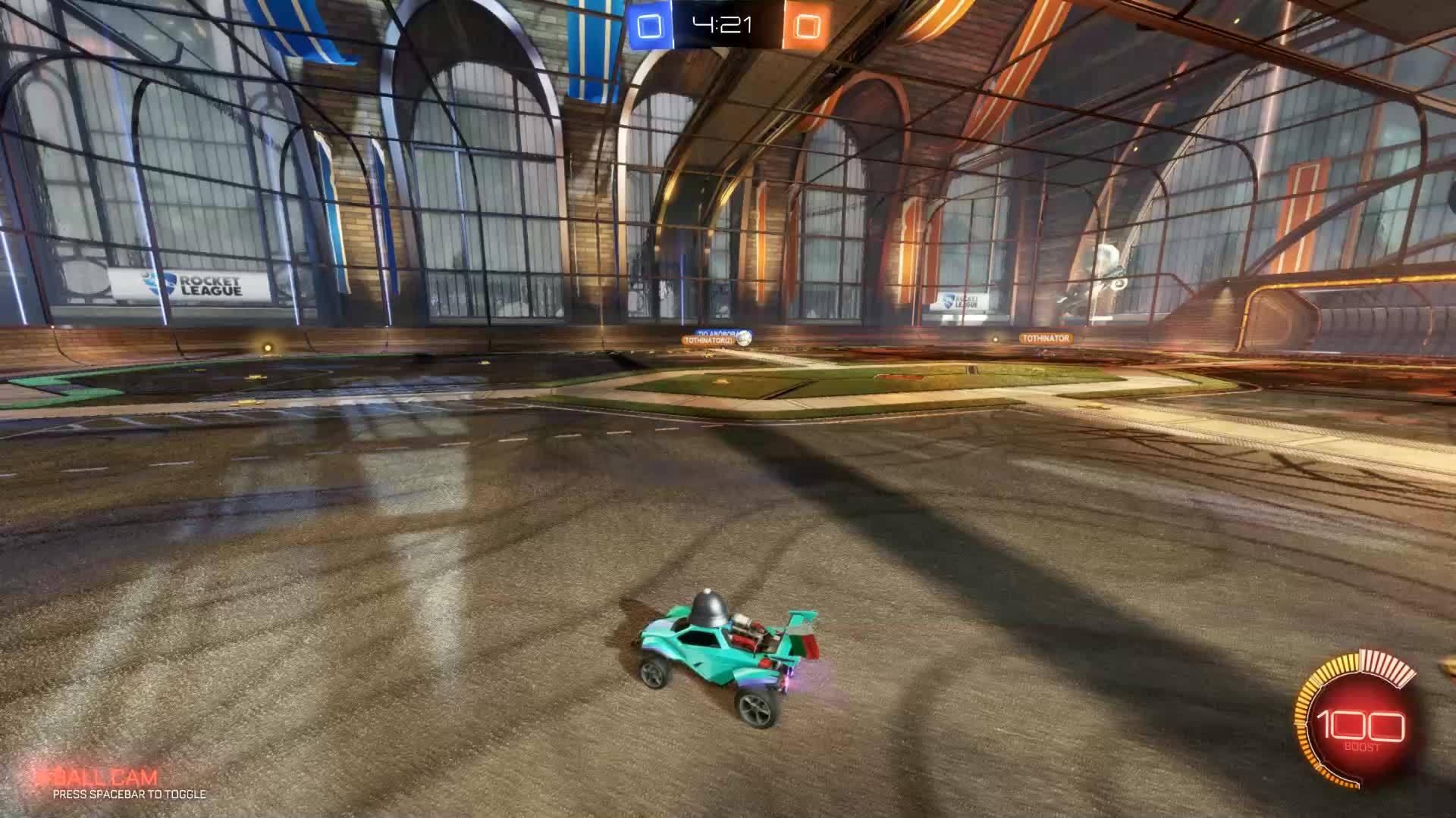 Rocket League goal GIFs