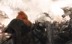 Watch and share Gif Battle GIFs and Hobbitedit GIFs on Gfycat