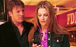 Watch and share Castle And Beckett GIFs and Nathan Fillion Gif GIFs on Gfycat