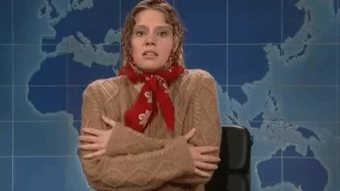 Watch and share Kate Mckinnon GIFs and Brrr GIFs on Gfycat