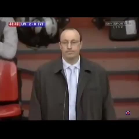 breathinginformation, Benitez swiping his banner GIFs