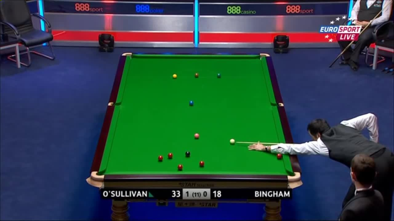 snooker, Ronnie gets a little annoyed (reddit) GIFs