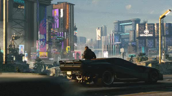 Watch and share Cyberpunk 14 GIFs on Gfycat