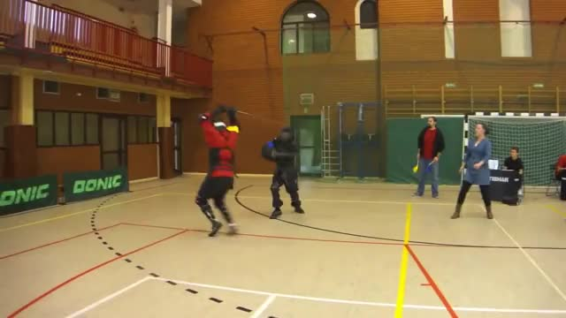 HEMA Longsword Tournament - W3 2012 - Sword fighting - Fencing