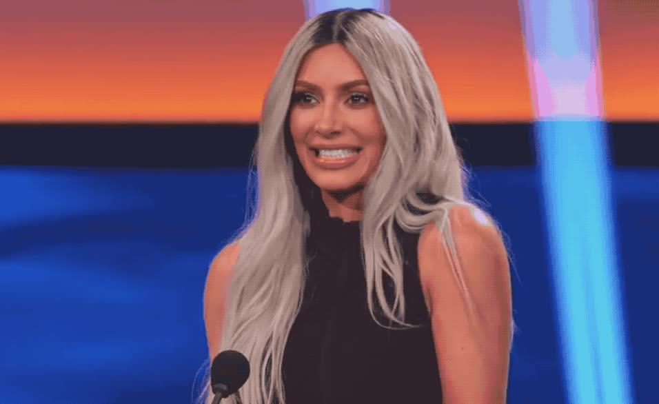 awesome, celebrate, cute, excited, family, feud, happy, harbey, kardashian, kim, kuwtk, smile, steve, west, win, winner, woohoo, yay, yes, Kim Kardashian - Yay GIFs