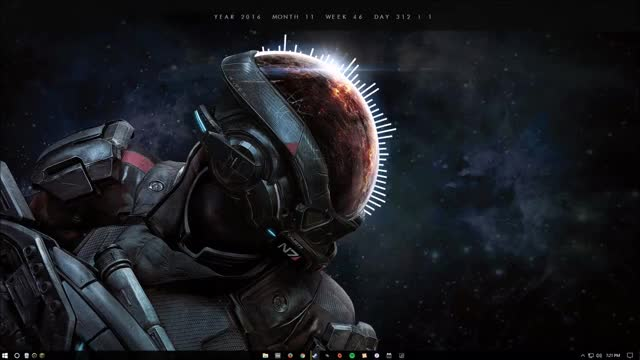 Watch Mass Effect Andromeda Rainmeter GIF by Scott Shatto (@scottshatto) on Gfycat. Discover more Rainmeter, rainmeter GIFs on Gfycat