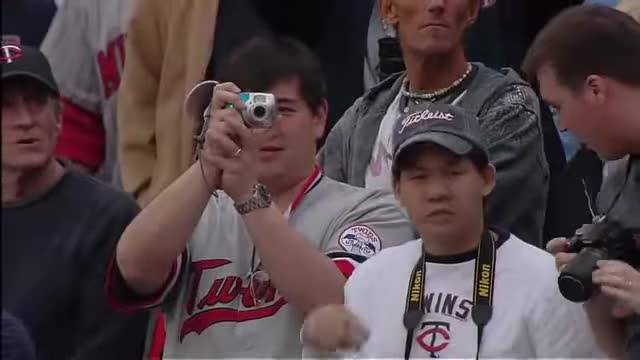 Watch First Pitch!! TWINS HOME OPENER - April 12, 2010 GIF by Michael Busch (@classicmntwins) on Gfycat. Discover more Boston Red Sox, Game Archive, Major League Baseball, Minnesota Twins, メジャー, メジャーリーグ, 大リーグ, 日本人選手, 野球, 野球速報 GIFs on Gfycat