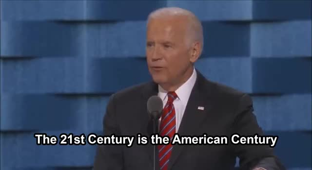 Watch Joe Biden - American Century @ DNC 2016 GIF on Gfycat. Discover more demconvention, demsinphilly GIFs on Gfycat