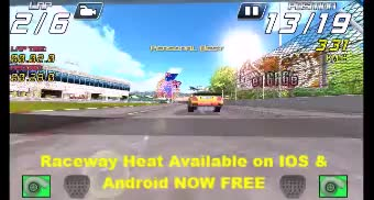 Watch and share Raceway Heat Available On IOS & Android Now! GIFs by herpamerpderp on Gfycat