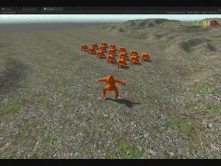 playmygame, unity3d, Gang Mechanics GIFs