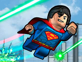 Watch and share DC Comics Super Heroes LEGO: Superman GIFs on Gfycat