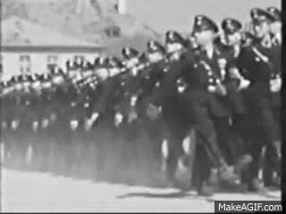 Watch and share German Army Marching GIFs on Gfycat