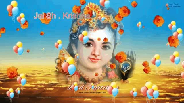 Watch and share Lord Krishna GIFs by pramodmittal on Gfycat