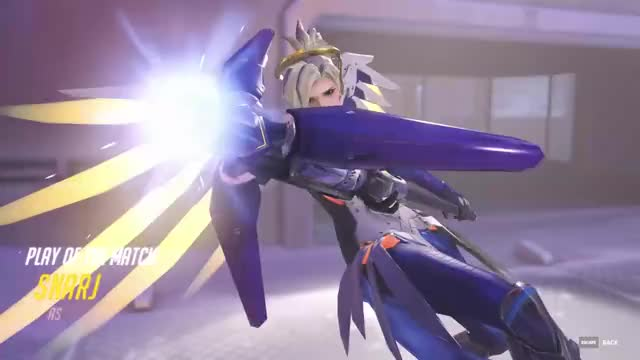 Watch and share Overwatch GIFs and Mercy GIFs by bzwingzero on Gfycat
