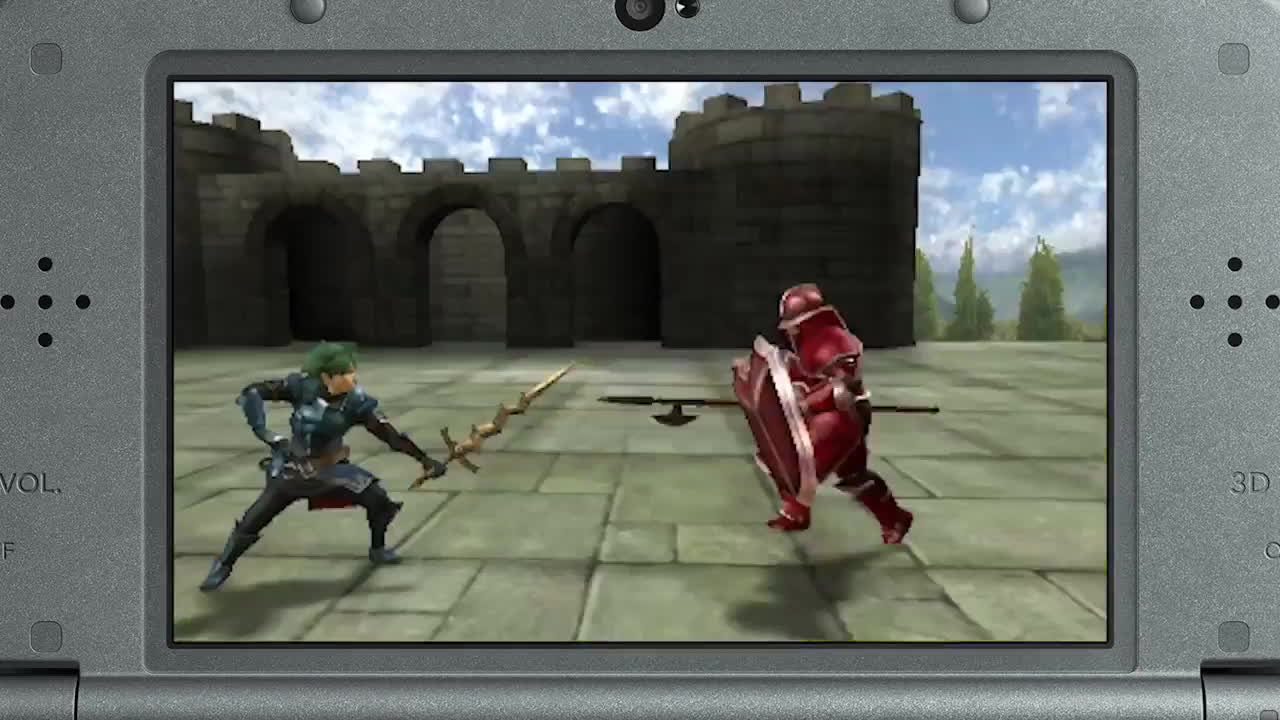 fire emblem echoes: shadows of valentia, fireemblem, project, Fire Emblem Echoes: Shadows of Valentia Trailer GIFs