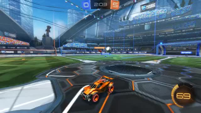 Watch Goal 6: Akai GIF by Gif Your Game (@gifyourgame) on Gfycat. Discover more Akai, Gif Your Game, GifYourGame, Goal, Rocket League, RocketLeague GIFs on Gfycat