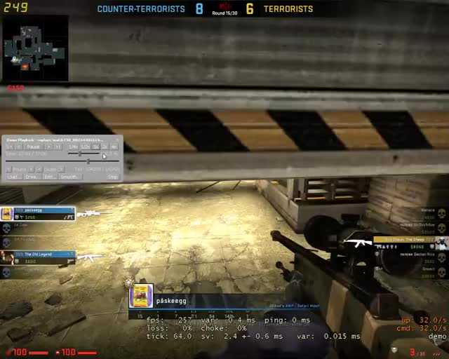 Watch and share Trickshot GIFs and Headshot GIFs by Overwolf on Gfycat