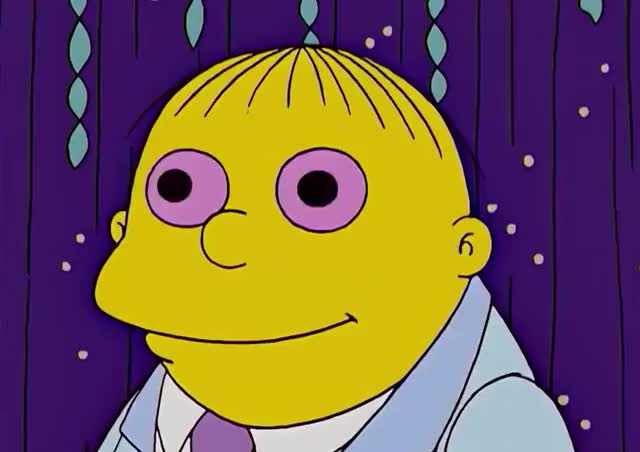 Watch this simpsons GIF by GIF Queen (@ioanna) on Gfycat. Discover more amazed, dizzy, drugs, drunk, graduation, happy, high, in, in love, love, mesmerised, ralph, school, simpsons, sleepy, smile, the simpsons, wiggum, wonder GIFs on Gfycat