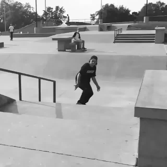 Watch and share [OC] The Homies Kickflip Up A Euro & My Hardflip Down An 8 Stair. (reddit) GIFs on Gfycat