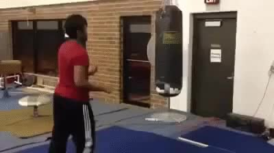 Watch Slapping a punching bag GIF on Gfycat. Discover more related GIFs on Gfycat