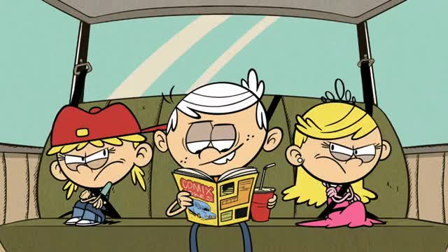Watch New party member! Tags: car nickelodeon fight fighting nicktoons siblings road trip sibling loud house middle seat GIF on Gfycat. Discover more related GIFs on Gfycat