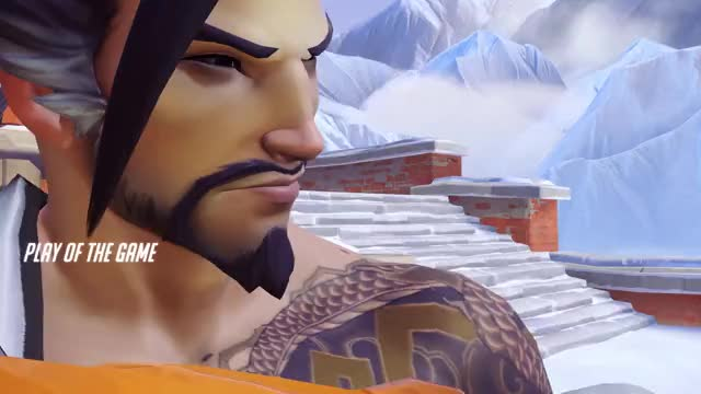 Watch and share Overwatch GIFs and Hanzo GIFs by julajoop on Gfycat