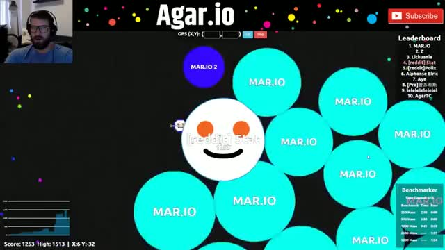 Watch and share (Agar.io) Mistakes Were Made. GIFs on Gfycat