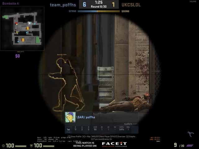 Watch Start time: 00:41.2015 sec Tags Caption Description GIF on Gfycat. Discover more GlobalOffensive GIFs on Gfycat