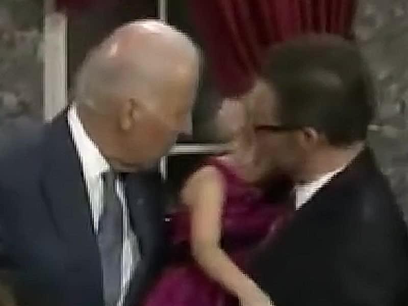 creep, funny, joe biden, politics, Joe Biden Grope 4 (www.JoeBiden.info) GIFs