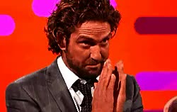Watch this gerard butler GIF on Gfycat. Discover more butler, celebs, funny, funny gif, funny men, gerard butler, gerry butler, gif, hot actors, hot male celebs, interview, laughing, laughing men, lol, manly men, men, my edit, scottish men, wtf, wtf gifs GIFs on Gfycat