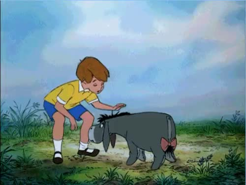 Watch this donkey GIF on Gfycat. Discover more 100 Acre Woods, 100 acre woods, Christopher Robin, Disney, Disney Show, Donkey, Eeyore, Hundred Acre Woods, Pooh Bear, Winnie the Pooh, christopher robin, disney, disney show, donkey, eeyore, hundred acre woods, pooh bear, winnie the pooh GIFs on Gfycat