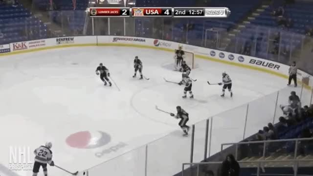Watch Hughes walk blue + assist GIF on Gfycat. Discover more United States of America, hockey GIFs on Gfycat