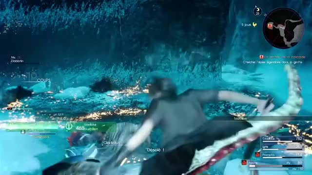 Watch and share Final Fantasy Xv GIFs and Decouverte GIFs by IzThatit on Gfycat
