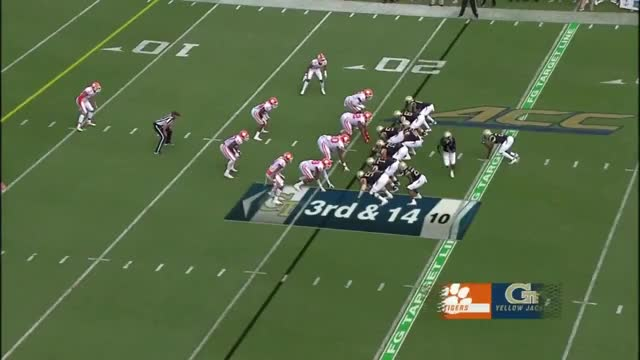 Watch Christian Wilkins GIF on Gfycat. Discover more 2018, ACC, Clemson, ESPN, Football, Georgia, Jackets, Tech, Tigers, Yellow GIFs on Gfycat