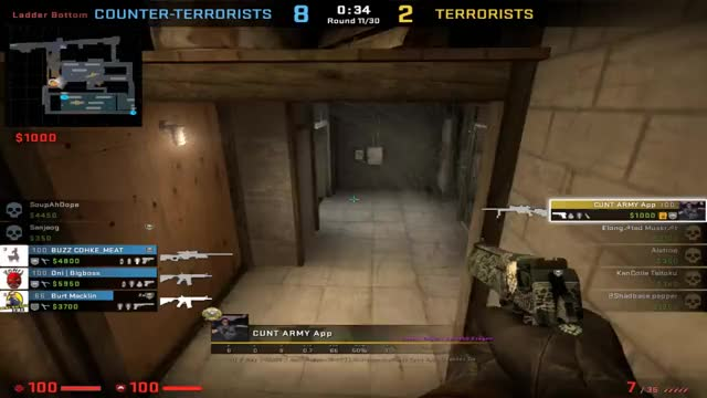 Watch 1v3 GIF by appointment (@appointment) on Gfycat. Discover more CS:GO, GlobalOffensive GIFs on Gfycat