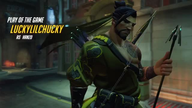 Watch Hanzo potg GIF on Gfycat. Discover more PS4share, Overwatch: Origins Edition, PlayStation 4, Sony Interactive Entertainment, luckylilchucky GIFs on Gfycat
