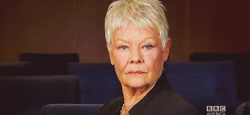 Watch this trending GIF on Gfycat. Discover more judi dench GIFs on Gfycat