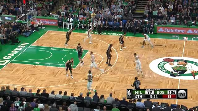 Watch and share Milwaukee Bucks GIFs and Boston Celtics GIFs by prejuce on Gfycat