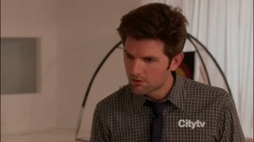 Adam Scott, huh, seriously, whaat, Seriously GIFs
